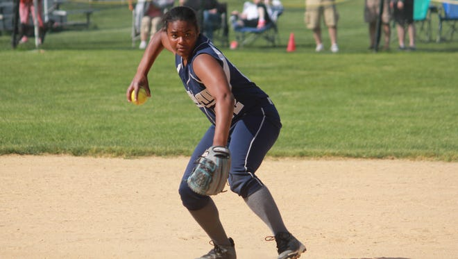 Shakyra Moore blasted a home run and scored three times to lead Manasquan to a 6-1 Shore Conference Tournament win.
