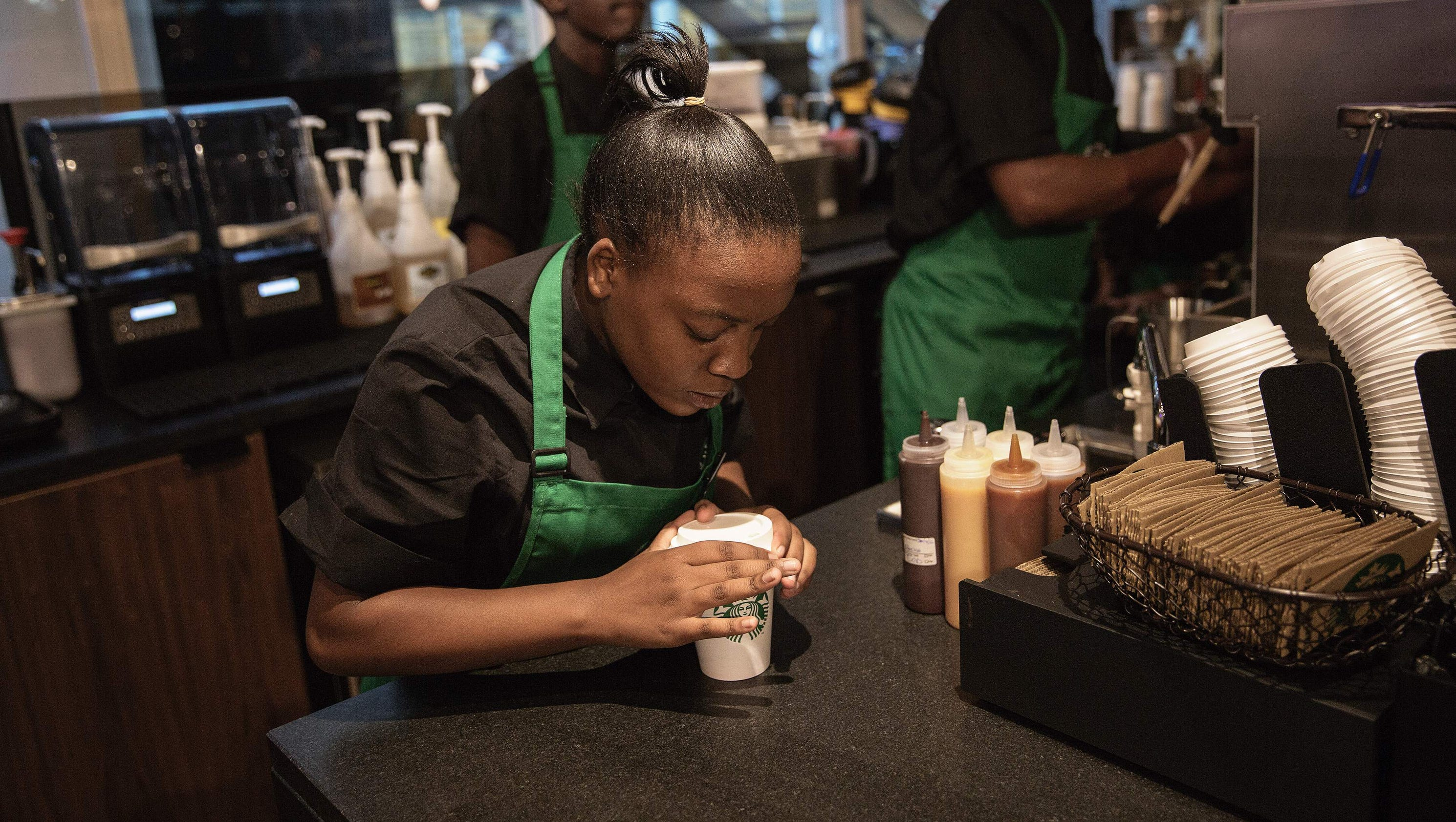 starbucks expands health care benefits for u s  employees