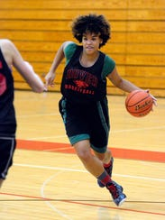 Rajah Fink returns to the court for Dover Area High