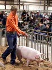 The Wichita County Junior Livestock Show will be 8 a.m. to 8 p.m. Jan 12 to 13. J.S. Bridwell Ag Center, 111 N. Burnett St. (File photo)