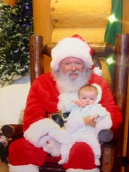 Bass Pro Shop's Santa Claus is part of the store's