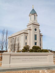 The Cedar City Utah Temple of The Church of Jesus Christ