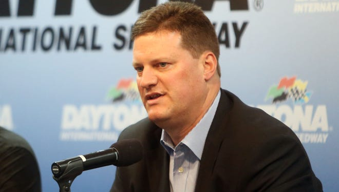 NASCAR's Steve O'Donnell says the goal in Sprint Cup is to have more lead changes in 2015 with a new race package.