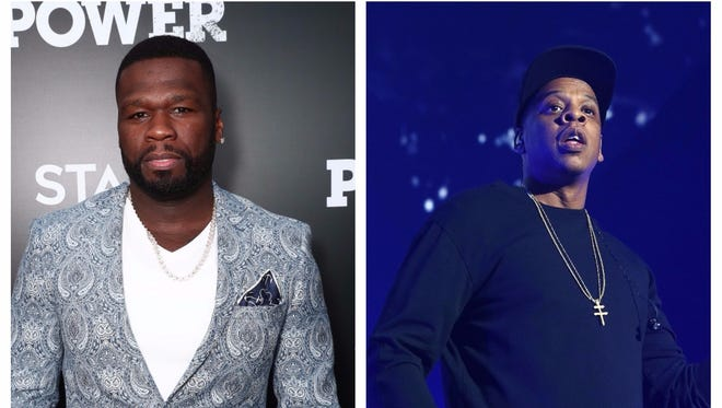 50 Cent takes a shot at Jay-Z's new album.