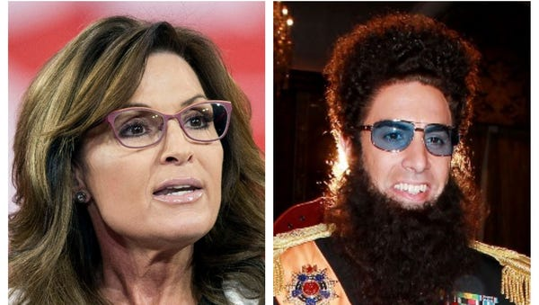 "Sarah Palin says she was ""duped"" by Sasha Baron..."
