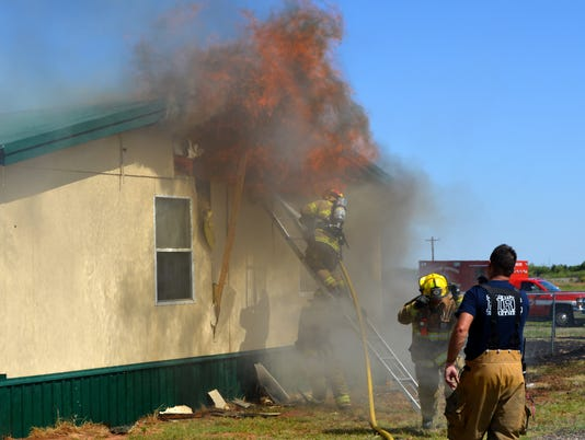 Wilbarger County May 14 fire