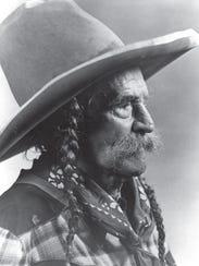 Archive photos of Frank Eaton, an Oklaohoma gunslinger