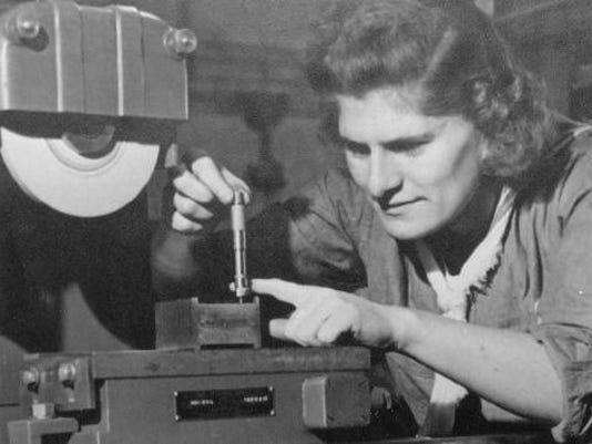 #4 Tool and Die Specialist 1943 Matilda Schetter