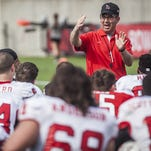 FILE -- Ball State coach Pete Lembo and his team are set to open August practice Wednesday.
