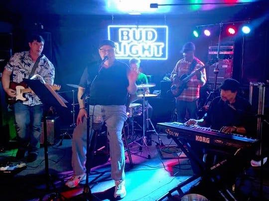 The Padillacs — from left, Chris Runyan, Patrick Boyle,