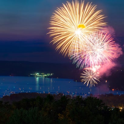 Fireworks to light up the Ithaca sky on July 3