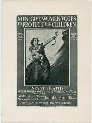International pro-suffrage poster.