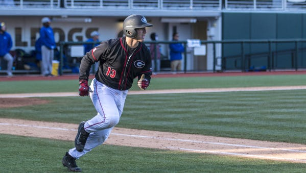Former Murphy baseball player Michael Curry is a sophomore catcher for Georgia.