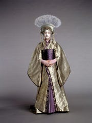 "The Queen Apailana funeral costume is part of the upcoming ""Star Wars"" costume exhibit at the DIA."