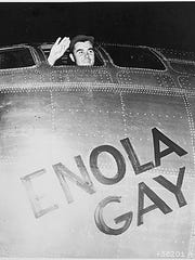 Colonel Paul W. Tibbets, Jr., piloted the Enola Gay
