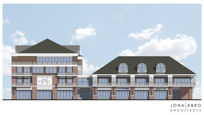 This is what the proposed Lofts on Main development would look like facing North Main Street.