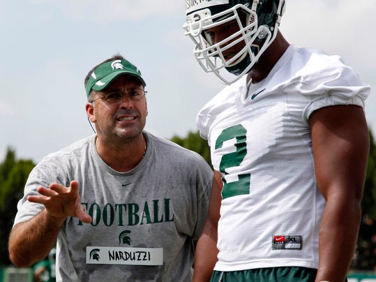 Michigan St Narduzzis Test Football