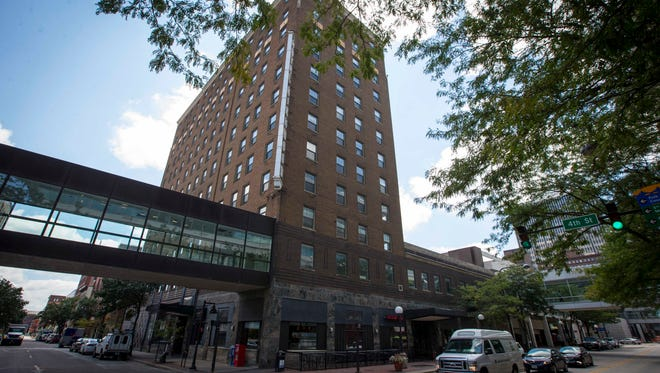 The Kirkwood building in downtown Des Moines is being renovated from apartments to condos.