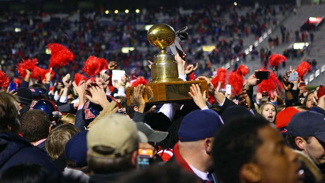 After beating LSU in their annual Magnolia Bowl, the Ole Miss Rebels turn their attention to the Egg Bowl.