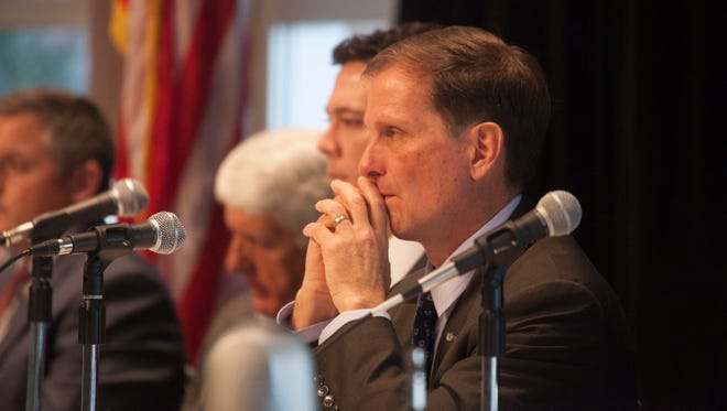 U.S. Rep. Chris Stewart hears concerns over the use and control of BLM lands at the House Natural Resources committee Hearing Jan. 22, 2016.