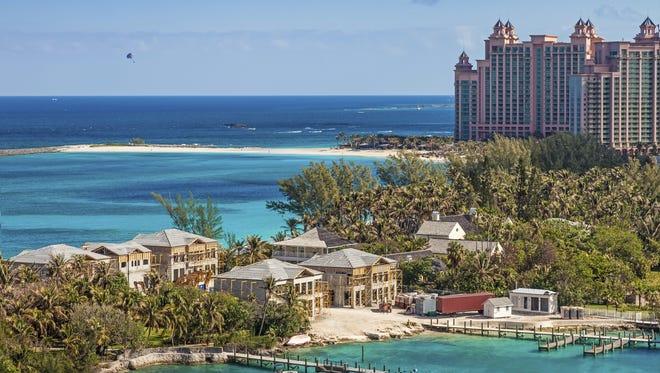 Paradise Island in Nassau Bahama.