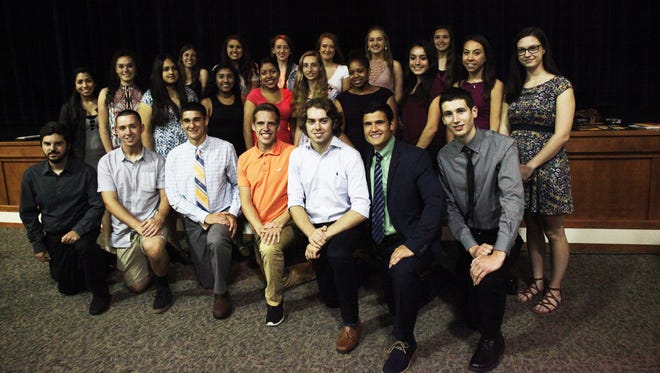 The Buena Regional Education Foundation recently awarded scholarships totaling $40,000 to several students.