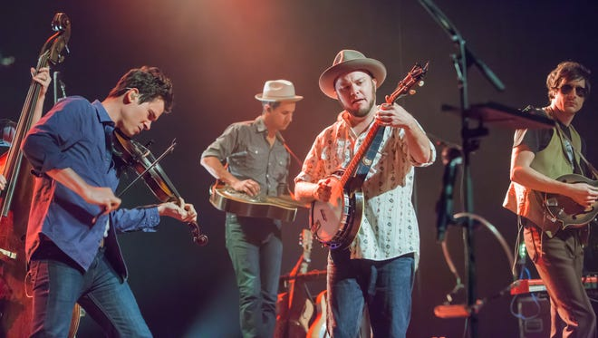 Old Crow Medicine Show perform a sold out show at  The Grand in 2013. The act returns to Wilmington on Wednesday, Sept. 21 for a concert at The Playhouse on Rodney Square.