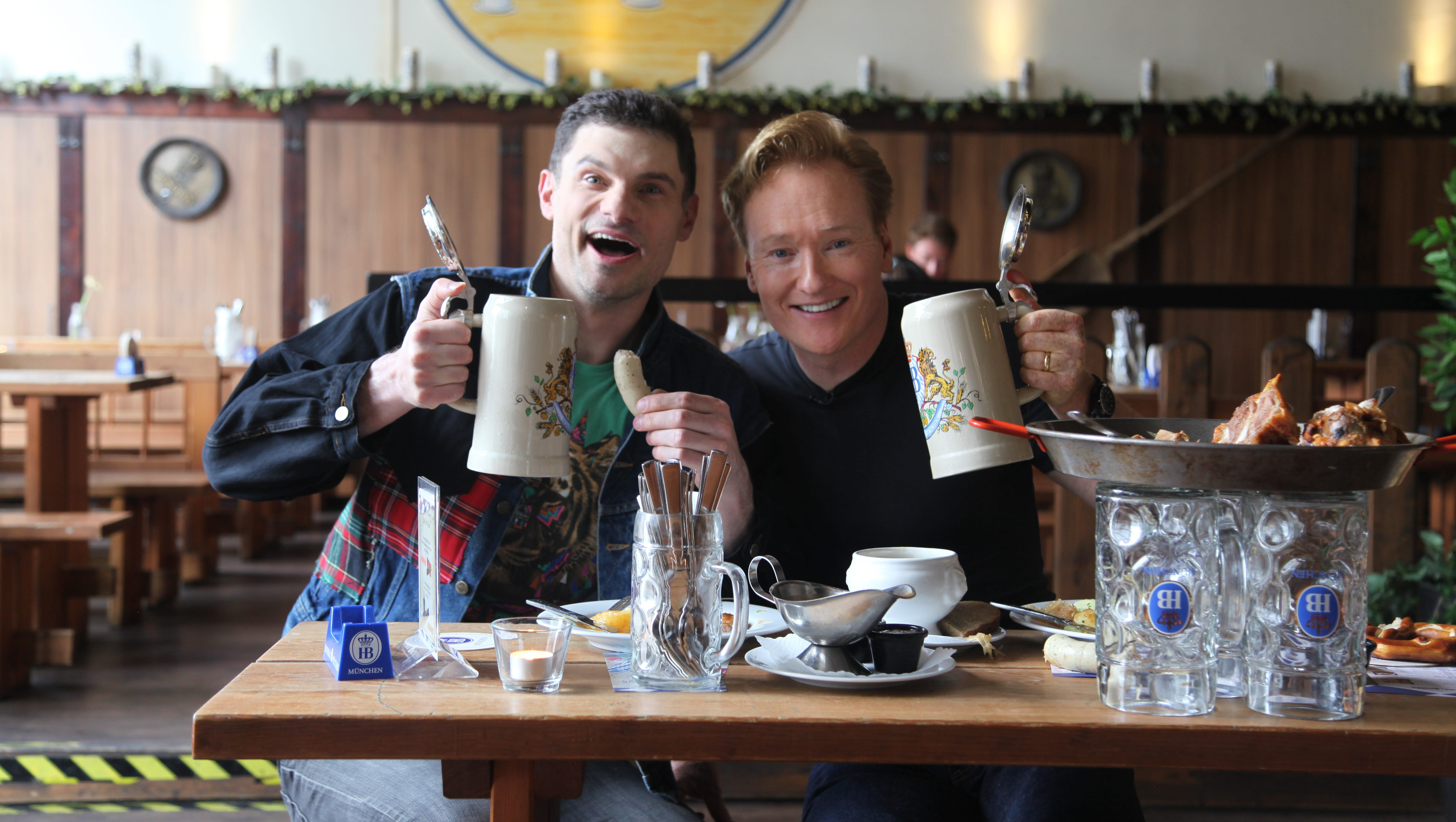 Andy Richter Nude conan o'brien takes berlin in new special