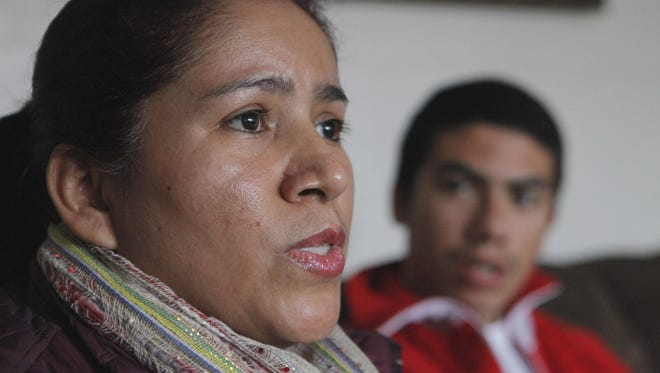 President Obama's executive order would benefit Maria Cabrera, an undocumented immigrant from Mexico shown here with her son Jose. She also has 2 daughters born in the U.S.