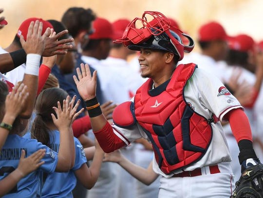 The Greenville Drive plays its home games at Fluor