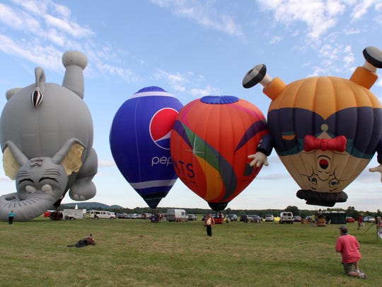 The Quick Check New Jersey Festival of Ballooning is a summer tradition that draws tens of thousands each year.