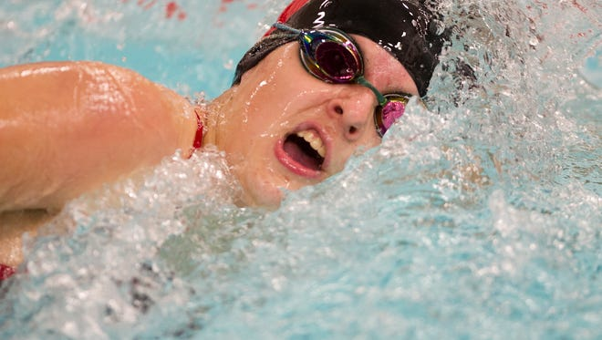 Junior Alex Raczek was the lone individual for SPASH to qualify for the 2015 WIAA Division 1 state swimming meet at the UW Natatorium in Madison.