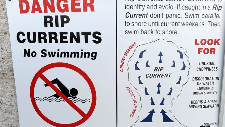 Headed to Delaware beaches? Watch for rip currents; check in with a lifeguard before you dive in