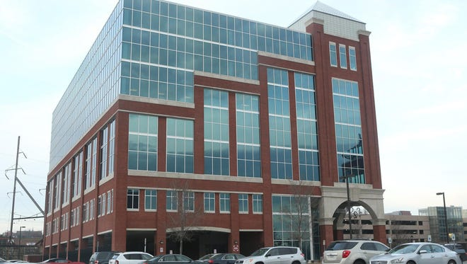 File photo taken in 2014 shows the Delaware headquarters of Navient, the nation's largest student loan servicer.