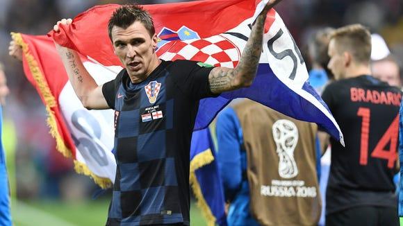 USP SOCCER: WORLD CUP-ENGLAND VS CROATIA S SOC RUS