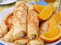 RECIPE: Stuffed Brown Butter Crepes