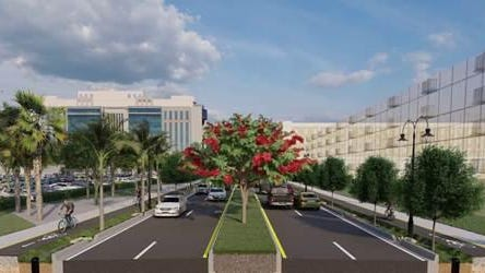 There's a new look coming for busy Banyan Boulevard in downtown West Palm Beach.