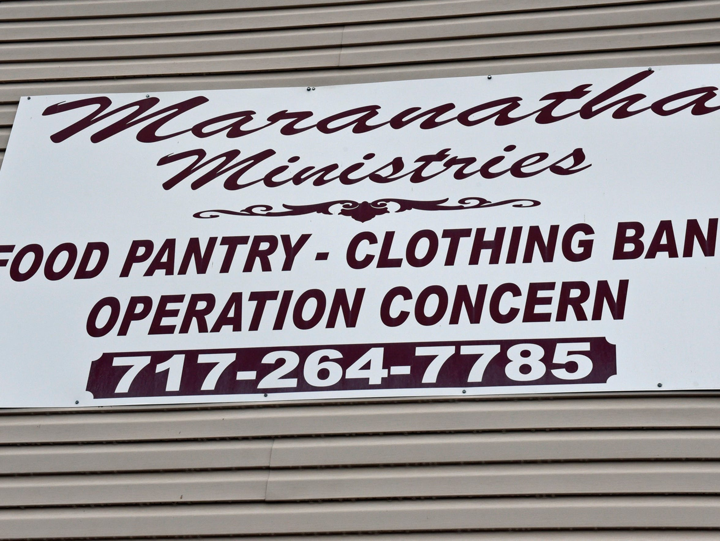 In addition to a food pantry, Maranatha Ministries,