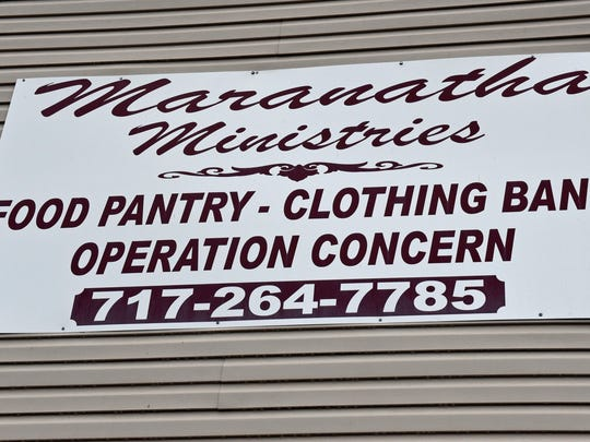 In addition to a food pantry, Maranatha Ministries, Loudon St., Chambersburg, provides various services for the less fortunate in Franklin County.