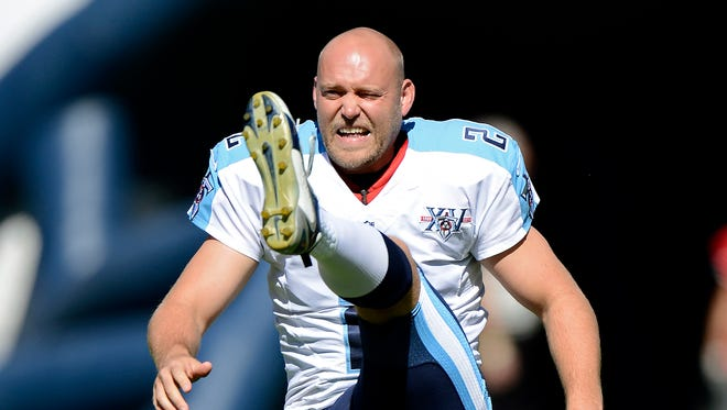 FILE - Rob Bironas died Saturday night, Sept. 20, 2014 after a car accident near his Nashville home, according to police.