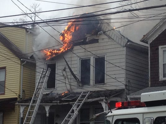 Ossining house fire