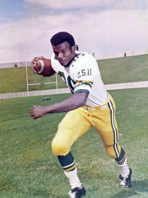 Lawrence McCutcheon was one of the top running backs in CSU history and went on to be a dominant back in the NFL.
