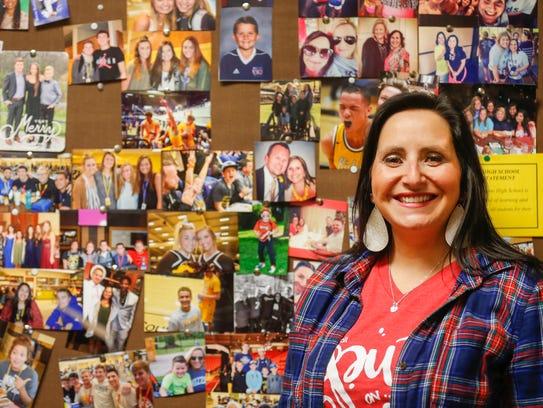Amy Moran, a counselor at Kickapoo High School was