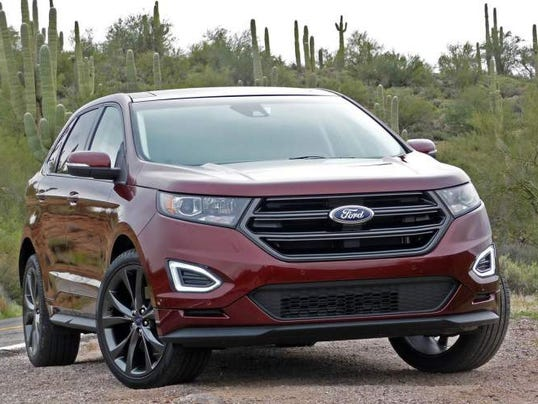 autos ford edge 2018. Black Bedroom Furniture Sets. Home Design Ideas