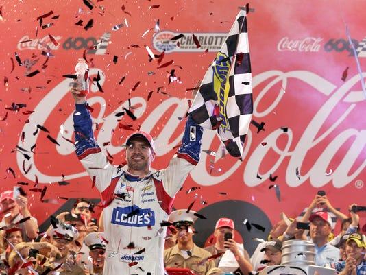NASCAR Charlotte Auto Racing (3)