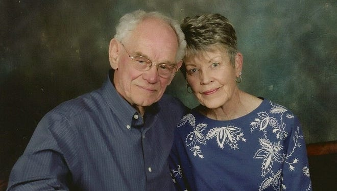Lloyd and Hilda Husted will mark 35 years of marriage on June 12.