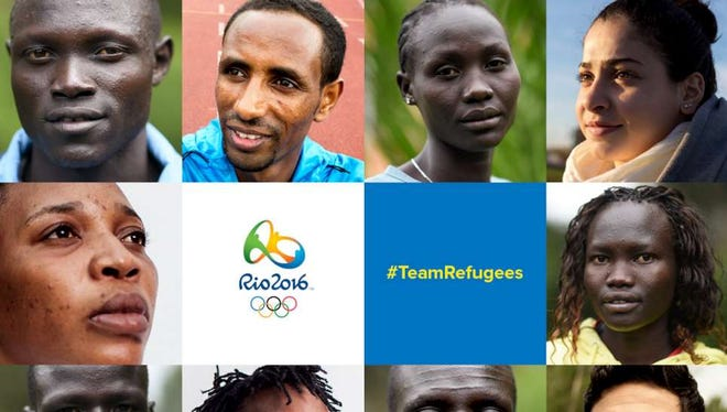 These refugees will be competing in Rio.