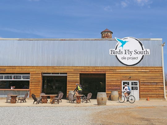 "We headed into Greenville's hip West End Water Tower District for this month's ""drinkin' experience""… landing with the cool birds at Birds Fly South ale project."