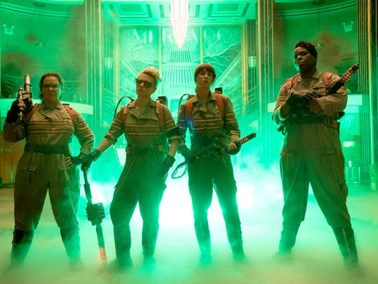 The all-female 'Ghostbusters': Abby (Melissa McCarthy,