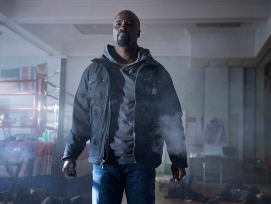 Mike Colter stars as the central superhero of 'Luke